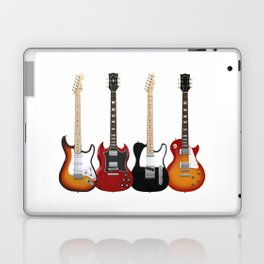 Four Electric Guitars Laptop & iPad Skin