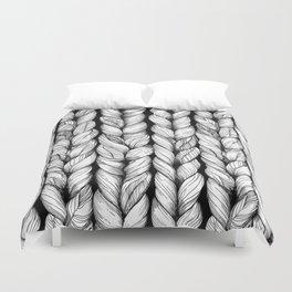 Knitted Duvet Cover