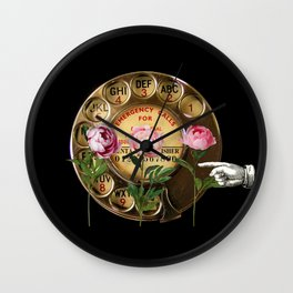 Call me Rose Wall Clock