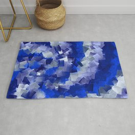 little sqares and rectangles pattern -1- Rug