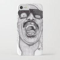 stevie nicks iPhone & iPod Cases featuring Stevie  by Paul Nelson-Esch Art