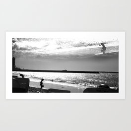 MARBEIRA  03 Art Print