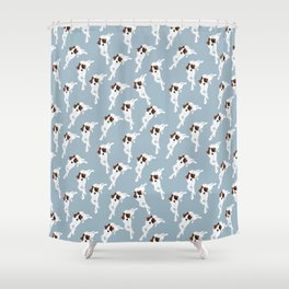 Edison Pattern Shower Curtain
