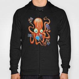 Comic Book Octopus Hoody