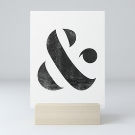 Ampersand V3 Mini Art Print