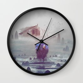 Birds and fishes Wall Clock