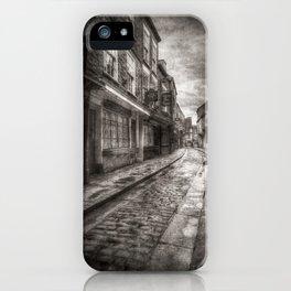 Ghostly Shambles York Vintage iPhone Case