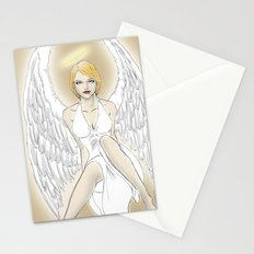 White Angel Stationery Cards