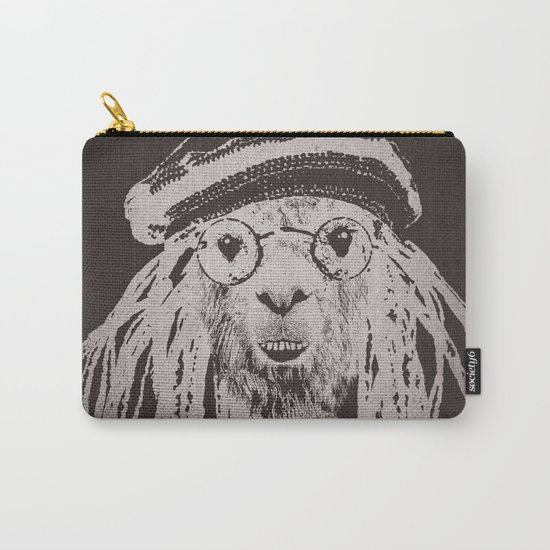 Funky Llama Carry-All Pouch