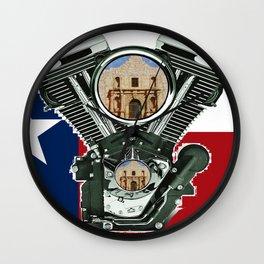 Alamo City Wall Clock