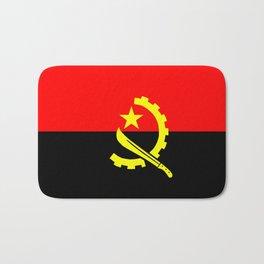 angola country flag Bath Mat