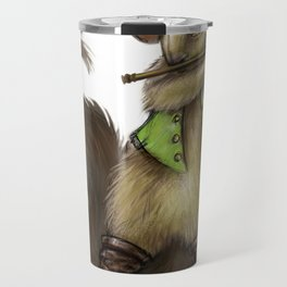 """Chewey Nougat"" The Squirrel Travel Mug"