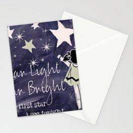 Chalkboard Nursery Rhymes Stationery Cards