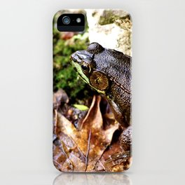 Frog Days of Summer iPhone Case