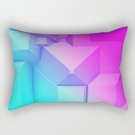 Poly Fun 3B Rectangular Pillow