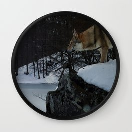 Artic time Wall Clock