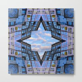 Blue Sky by Lika Ramati Metal Print