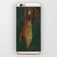 frankenstein iPhone & iPod Skins featuring Frankenstein by Marilyn Foehrenbach