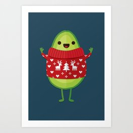 AVO MERRY CHRISTMAS Art Print