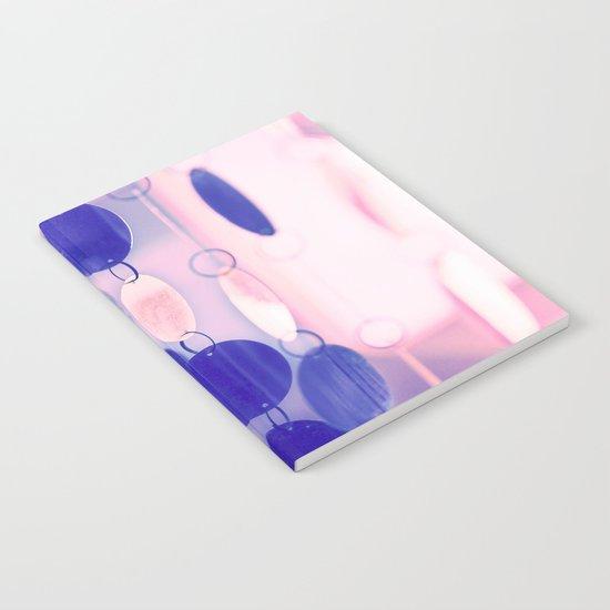 GLAM CIRCLES #Soft Pink/Blue #1 Notebook