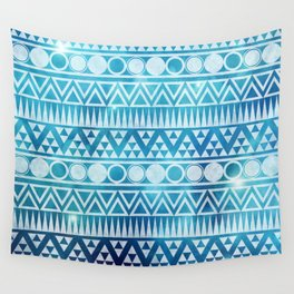 Tribal Ice Wall Tapestry