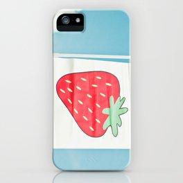Strawberry Sky iPhone Case