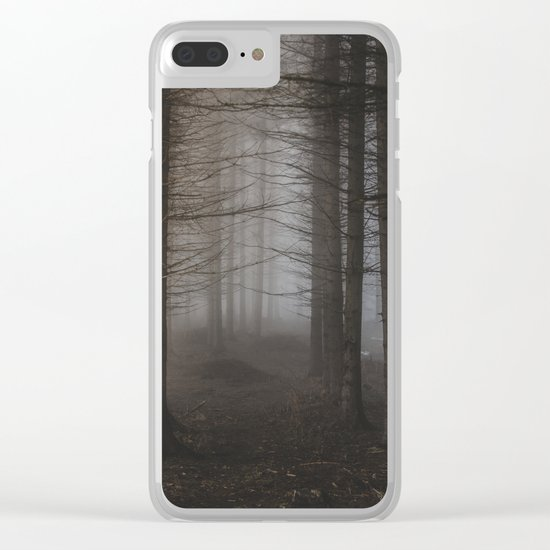 In the still forest Clear iPhone Case