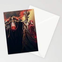 The Sorcerer King - Overlord Stationery Cards
