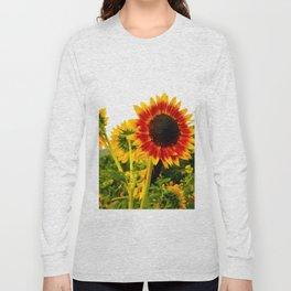 Sunflower Garden Long Sleeve T-shirt