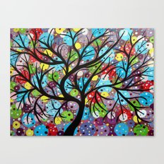 Abstract tree-8 Canvas Print
