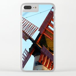 Marsh Mill Clear iPhone Case