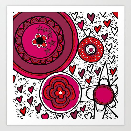 Playground Love Art Print