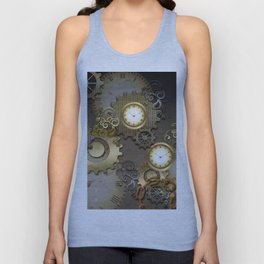 Abstract mechanical design Unisex Tank Top