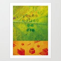 Un Dia Art Print