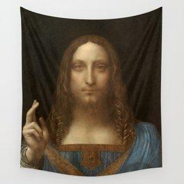 Price Slashed on 450M Leonardo da Vinci Salvator Mundi Wall Tapestry
