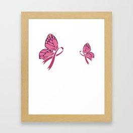 I fight for my friend - Cancer Framed Art Print