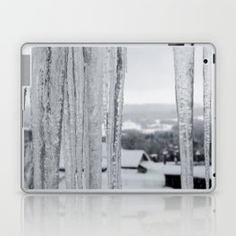 Snow Landscape Through Ice Laptop & iPad Skin