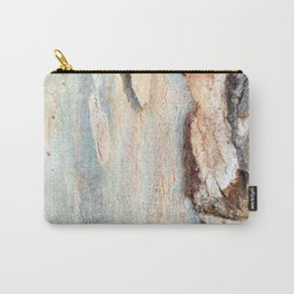 Eucalyptus tree bark and wood Carry-All Pouch