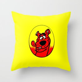 dog scooby Throw Pillow
