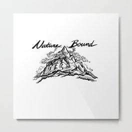 Nature Bound Metal Print