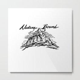 Nature Bound Metal Print