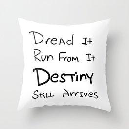 Thanos - Destiny Throw Pillow