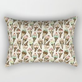 Sexy Ice Cream tattoo flash Rectangular Pillow