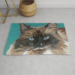 Tipper the Cat Portrait Rug
