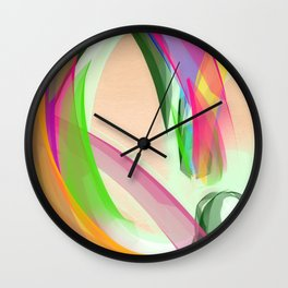 """C"" is for Colour Wall Clock"