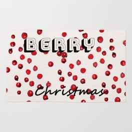 Happy berry christmas II Rug