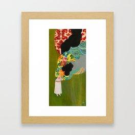 the Overwhelm Framed Art Print