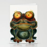 frog Stationery Cards featuring Frog by Riccardo Pertici