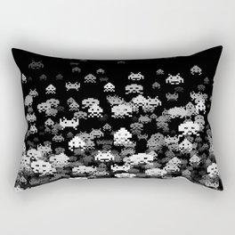 Invaded BLACK Rectangular Pillow