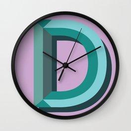 D Wall Clock
